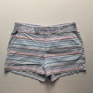 Gap Striped Cotton Shorts